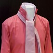 Red shirt in the store with a lot of pink ties — Stock Photo #15969155