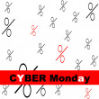 Cyber Monday — Stock Vector