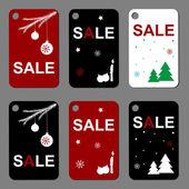 Sale sticker winter — Stock Vector