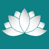 Lotus paper — Stock Vector