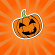 Halloween pumpkin — Stock vektor #30917061