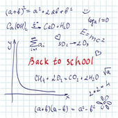 Formeln-hintergrund — Stockvektor