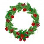 Christmas wreath 2 — Stock Vector #34752799