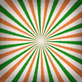 Irish striped background — Stock Vector