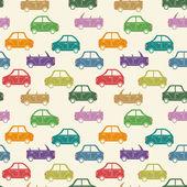 City car pattern color — ストックベクタ