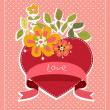 "Stock Vector: Vector illustration ""Love"""