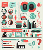 Set of infographic elements — Stock Vector