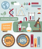 Vector infographic elements — Stock Vector