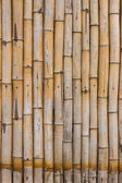 Wall bamboo wood design. — Stock Photo