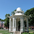 Stock Photo: Gazebo in Town Square