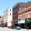 Downtown La Crosse Wisconsin — Stock Photo