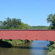 Stock Photo: Covered Bridge-Madison County, Iowa