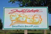 South Dakota Welcome Sign — Stock Photo