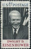 Dwight D Eisenhower Stamp — ストック写真