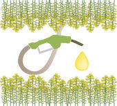 Biofuel — Stock Vector