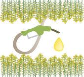 Biofuel — Stockvector