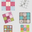 Sudoku set — Stock Vector #28236363
