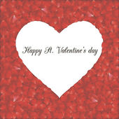 Cartão romântico 2 — Vetor de Stock