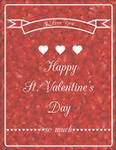 Romantic card 3 — Stock Vector