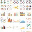 Big set of infographic elements — Stock Vector #46702135