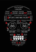 Death Infographics — Stock Vector