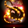 New Year card 2013. - Imagen vectorial