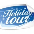 Holiday tour. - Stock Vector