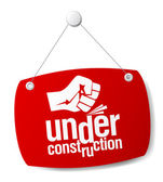 Under construction — Vettoriale Stock