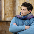 Young stylish man portrait. - Stockfoto