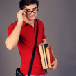 Student boy. — Stock Photo #13903975