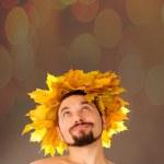 Autumn man. — Stock Photo #14198812
