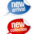 New collection stickers. — Stock Vector #14198256