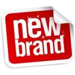 New Brand stickers. — Stock Vector