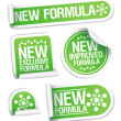 New Formula stickers. — Stock Vector #14198333