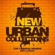 New urban collections design template. — Image vectorielle