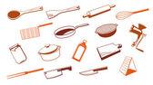 Kitchen utensil tool. — Stock Vector