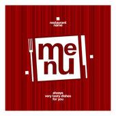 Restaurace menu. — Stock vektor