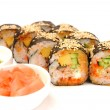 Rolls with eel — Stock Photo #14200283