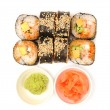 Rolls with eel — Stock Photo #14200285