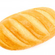 Bread on white — Stock Photo