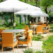 Outdoor cafe — 图库照片