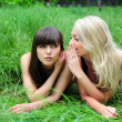 Two beautiful young women friends. — Stock Photo #14202580