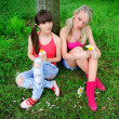 Two pretty girls — Stockfoto #14202721