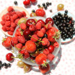 Stock Photo: Summer berries.