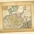 Ancient map. — Stockfoto #14204811