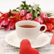 Valentine background. - Stock Photo