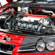Foto Stock: Car Engine