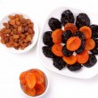 Collection of dried fruits - Stock Photo