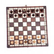 Chess on white — Stock Photo