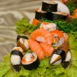 Assortment of Japanese Sushi - 